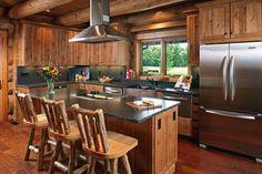A Cabin Rustic Kitch