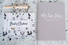 Baby Shower Gift Bundle for Baby Boy or Girl. Baby Shower Guest Book and Baby Memory Book. Memory Journal, Baby Journal, Baby Prediction, Baby Memories, Wishes For Baby, Baby Boy Or Girl, Book Gifts, Baby Shower Invitations, Gifts For Kids