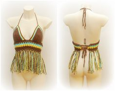 40Hey, I found this really awesome Etsy listing at https://www.etsy.com/listing/185416698/hippie-top-crochet-top-bra-fringe