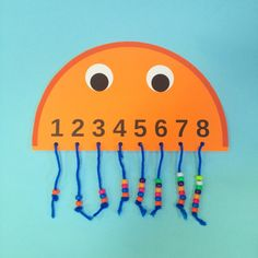 Counting Jellyfish Craft