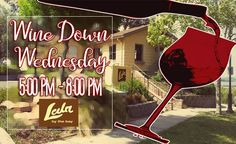 Everyone is invited to our next Wine Down Wednesday on September 27.
