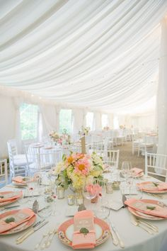 Wedding Reception Decor | Draping | Click thru to see the full feature on SMP | L Hewitt Photography