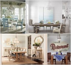 Bring Some Coastal Inspiration to Your Dining Room a