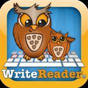 Skriv och Läs är en app som främst vänder sig till de elever som är i början av sin läs- och skrivutveckling.