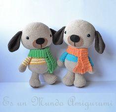 Patrón Perros!!! PATRÓN GRATIS | Es un Mundo Amigurumi | Bloglovin'