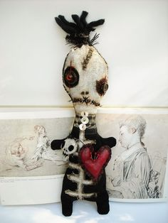 Art doll by Junker Jane                                                                                                                                                                                 More