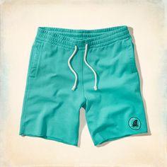Hollister Fleece Jogger Shorts