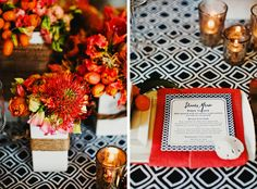 Not really nautical once you take away the sand dollar! | More Nautical Wedding Ideas