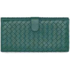 Bottega Veneta Intrecciato Continental Wallet as seen on Jennifer Love Hewitt