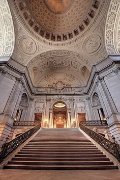 San Francisco City Hall, California by Non Paratus