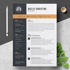 Resume Template by ResumeInventor on If you like this design. Check others on my CV template board :) Thanks for sharing!Resume Template by ResumeInventor on Modern Resume Template, Creative Resume Templates, Cv Template, Templates Free, Design Templates, Resume Cv, Resume Tips, Resume Work, Resume Layout