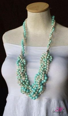 Premier Designs Opening Night + Seabreeze necklaces