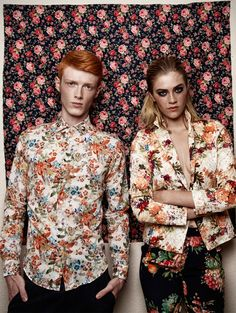 Digital prints designed for ZARA Man and ZARA Woman, printed by SET spa.Featured on VOGUE Italia and Fuuucking Young!photographed by Martina Cyman and styled by Louisa Ritter Witt