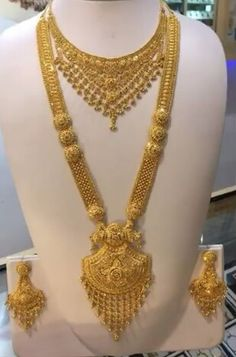 Gold Jewelry In Pakistan Gold Jewelry Simple, Gold Wedding Jewelry, Jewelry Design Earrings, Gold Jewellery Design, Gold Mangalsutra Designs, Gold Necklace, Pakistan, Sell Gold, Bridal