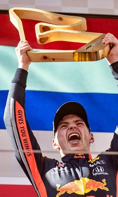  It was an incredible race and an amazing win! 💪🏻 Thank you thank you thank you fans, thank you all! Red Bull Racing, World Of Sports, Formula One, Race Cars, Fans, The Incredibles, Baseball Cards, Amazing, Auto Racing