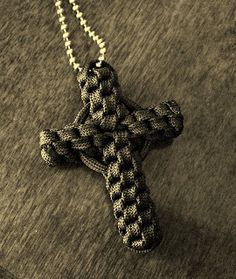 Stormdrane's Blog: Paracord Crown Sinnet Circle Cross...