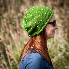 Green Polka Slouchy Beanie Hat / Fall Winter Knit Apple Green Hat With Embroidered Dots / Green Urban Style Hat / Fairytale Toadstool Hat Slouchy Beanie, Beanie Hats, Sell On Etsy, My Etsy Shop, Etsy Christmas, Christmas Gifts, Green Hats, Kids Decor, Urban Fashion