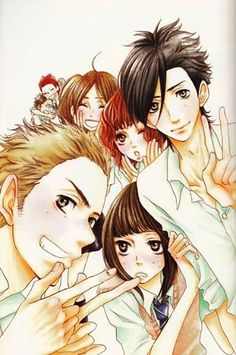 "Say "" I love you ""(manga/anime) The story is fast, the art i too perfect, and its realistic i love it www.mangahere.com"
