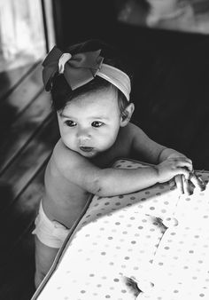 black and white #baby #photography