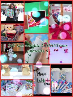 Last minute DIY CHRISTmas presents video by Bethany Mota!!!!!!!!!!