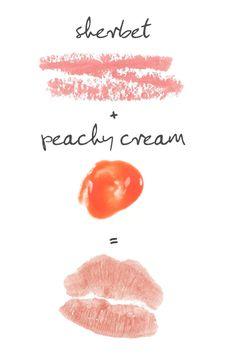 Paula's Choice Sherbet Lipstick + Peachy Cream Lip Gloss = Perfectly Kissable Lips #paulaschoice