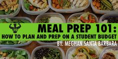 Meal Prep 101: How To Plan And Prep On A Student Budget – JackedScholar.ca