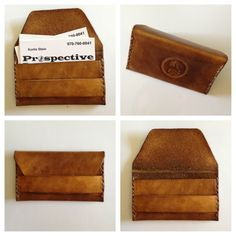 leather business card case - Google Search