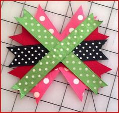 Boutique Bow Tutorial Featuring Kara Jordan – Lulus Baby Big huge shout out to Kara Jordan of Lulus Baby for creating and sharing with us her Boutique Bow Tutorial. Boutique Bows are one of the biggest sellers. What I find to be the most fun about this … Making Hair Bows, Diy Hair Bows, Diy Bow, Diy Ribbon, Ribbon Bows, Ribbon Flower, Bow Making, Ribbon Hair Bows, Ribbon Crafts
