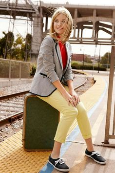 Are you brave enough to go on an impromptu road trip? Black Keds, Keds Champion, Nautical Looks, School Outfits, Cute Outfits, Girly, Comfy, Chic, My Style