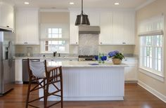"""The """"Cup"""" kitchen by Flagg Coastal Homes in Coronado"""