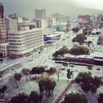 Snow in Cape Town, South Africa. - Interesting - Check out: Snow in Cape Town on Barnorama Cape Town South Africa, Once In A Lifetime, Live, Cool Pictures, City Photo, Dolores Park, Landscape, Places, History