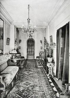 vintage interiors on pinterest 1960s 1940s living room. Black Bedroom Furniture Sets. Home Design Ideas