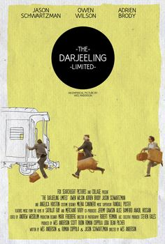 fuckyeahmovieposters:    The Darjeeling Limited by Dylan Blaty