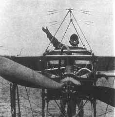 If this is a photo of Harriet it is during her early flying classes. Note the small 3-cylinder Anzani engine.