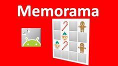 Memorama Pt1 Interface en App Inventor 2 Especial Navidad