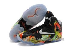 "check out c25b8 3927a Nike LeBron 11 ""Everglades"" Mens Basketball Shoes Free Shipping 4Rp8GXC"