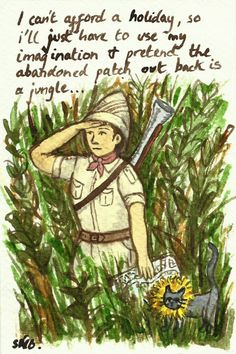 Random Thoughts of a Bored Artist: 2.0 Day 298 - Adrian, Get A Gardener
