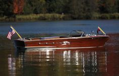 1955 Wood Chris Craft Continental 18' - for sale - One Family Owned Since New!