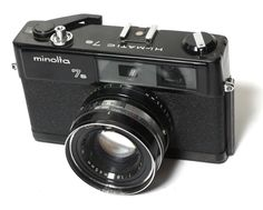 Minolta: Hi-matic 7 S rangefinder camera. Built-in meter. Rangefinder Camera, Polaroid Camera, Movie Camera, Camera Nikon, Photo Lens, Classic Camera, Heritage Museum, Camera Obscura, Photography Camera