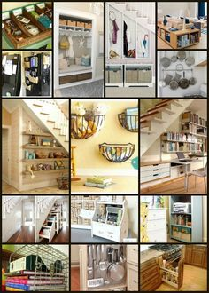 Organizational Home Decor Round Up and Create & Share Link Party Home Organisation, Life Organization, Organizing Your Home, Organizing Ideas, Staying Organized, Home Hacks, Home Projects, Home Improvement, Inspiration