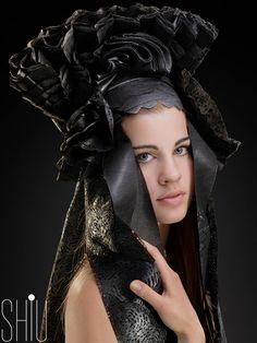 Fashion inspired by Moravian costume from fashion designer Teresa Havrankova - Arcolor 2014