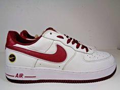 cda65b7bcb1f46 Mens Nike Air Force 1 Team Red White Basketball shoes size 11 US 306509-162