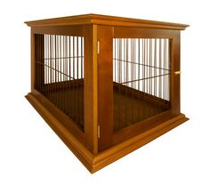 Wooden Furniture Dog Crate