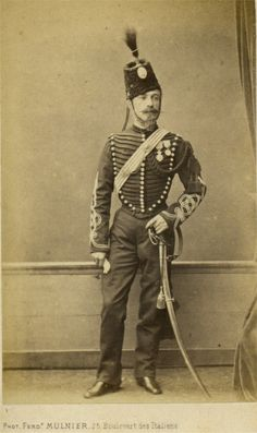 Lieutenant 2nd Chasseurs A Cheval 1865