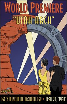 Utah Art Deco Stargate.             For more great pins go to @KaseyBelleFox