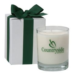 7.5 Oz Clear Votive Soy Candle in Gift Box, giveaway, wholesale. #femmepromo #scentedcandles #privatelabelcandles #promocandles #customcandles