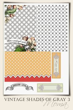 MOMA - SWEETER WITH SUGAR: Project life freebies part 2, free printable, Pocket scrapbooking, download