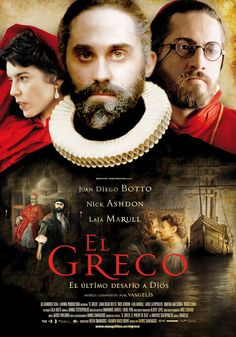 El Greco the movie? This is definitely going on my watch list!