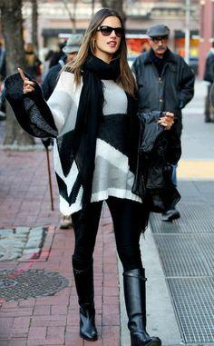 Alessandra Ambrosio Pictures - Alessandra Ambrosio in NYC - Zimbio
