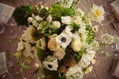 Whites, greens, and textural goodness